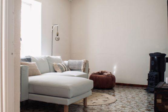 Villapparte-La Fermette du Merle-authentiek vakantiehuis voor 2 personen-Bourgogne-Frankrijk-romantische woonkamer