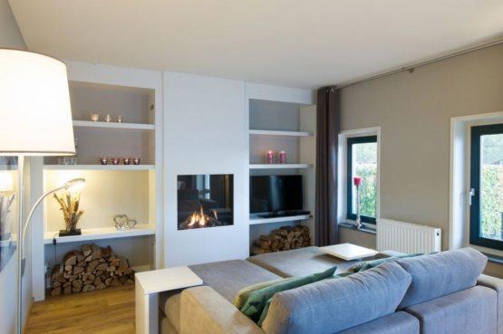 Villapparte-Landal-Hof van Saksen-Love2stay Boerderij-luxe vakantiehuis-2 personen-knusse woonkamer