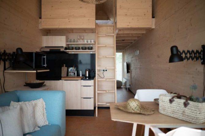 Villapparte-Roompot-Qurios Grevelingenstrand-Eco Lodge Grevelingenstrand-4 personen-zuid-holland-knus geheel
