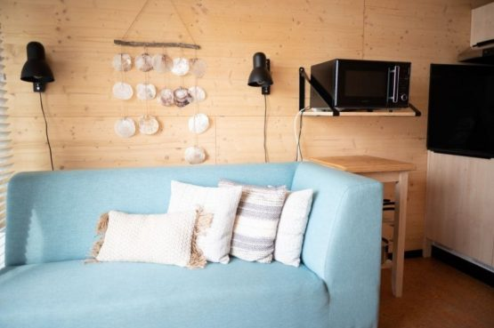 Villapparte-Roompot-Qurios Grevelingenstrand-Eco Lodge Grevelingenstrand-4 personen-zuid-holland-knusse zit