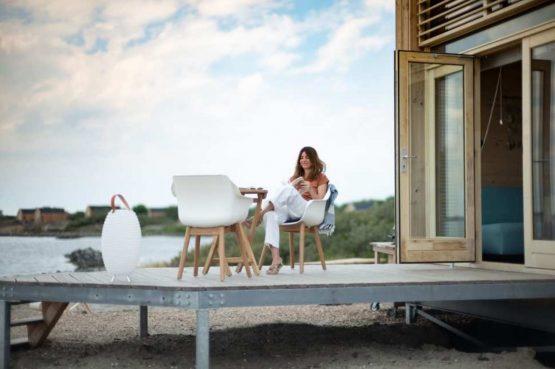 Villapparte-Roompot-Qurios Grevelingenstrand-Eco Lodge Grevelingenstrand-4 personen-zuid-holland-terras