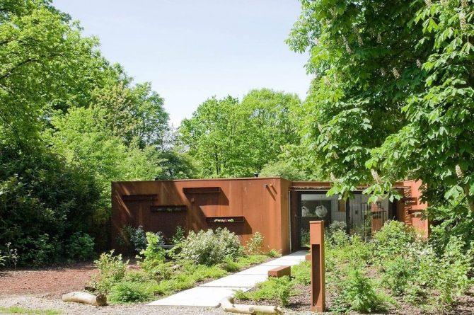 Villapparte-Special Villas-Vakantiehuis Stalen Boshuis-luxe vakantiehuis voor 4 personen-Oosterhout-Noord-Brabant