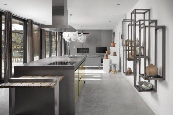 Villapparte-Special Villas-Vakantiehuis Stalen Boshuis-luxe vakantiehuis voor 4 personen-Oosterhout-Noord-Brabant-luxe keuken
