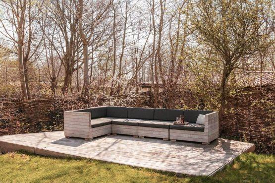Villapparte-Villa Duynzoom 3-Park Duynzoom-luxe villa voor 8 personen met finse sauna-lounge hoek