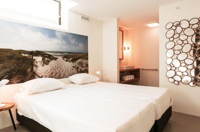 Villapparte-Villa Duynzoom 3-Park Duynzoom-luxe villa voor 8 personen met finse sauna-romantische slaapkamer