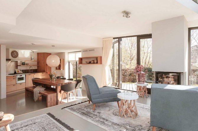 Villapparte-Villa Duynzoom 3-Park Duynzoom-luxe villa voor 8 personen met finse sauna-zitje bij openhaard