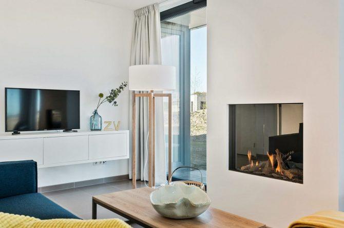 Villapparte-Zandvillas-Vakantievilla Waterlijn 3-luxe vakantiehuis voor 6 personen-Kamperland-Zeeland-gashaard en tv
