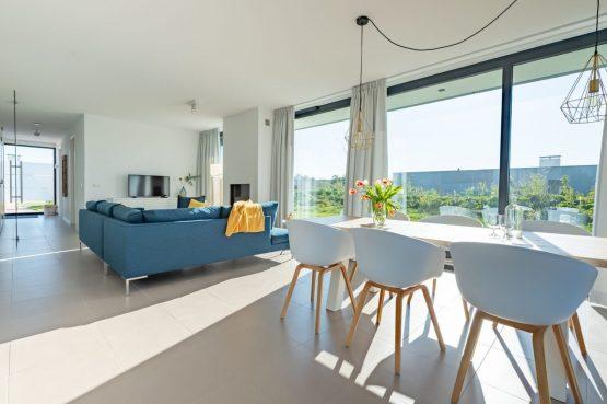 Villapparte-Zandvillas-Vakantievilla Waterlijn 3-luxe vakantiehuis voor 6 personen-Kamperland-Zeeland-lichte eethoek