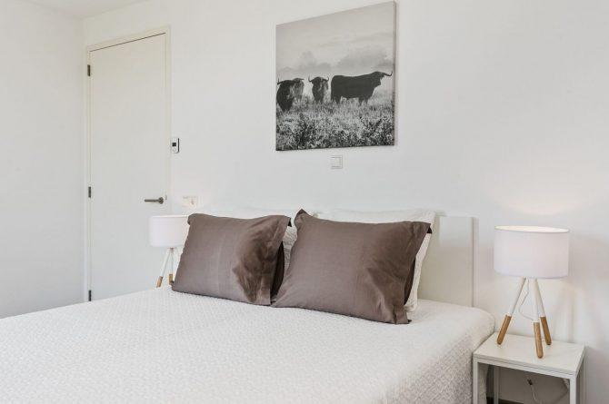 Villapparte-Zandvillas-Vakantievilla Waterlijn 3-luxe vakantiehuis voor 6 personen-Kamperland-Zeeland-lichte slaapkamer