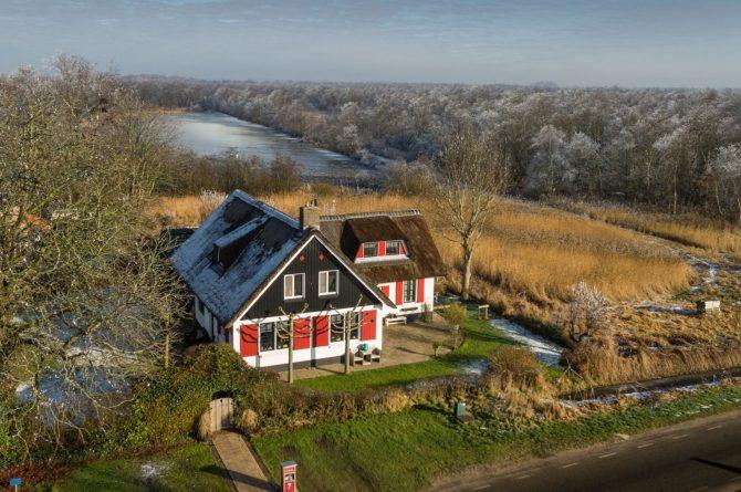 Villapparte-B&B-Vakantiehuis de Vrijstaten-Overrijsel-luxe B&B-De Waterjuffer-De Weerribben