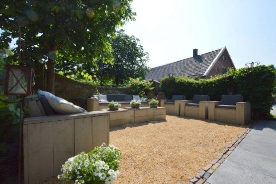 Villapparte-Belvilla-Vakantiehuis La Grande Maison Douce-luxe vakantiehuis voor 16 personen-Alphen-Noord Brabant-luxe loungehoek