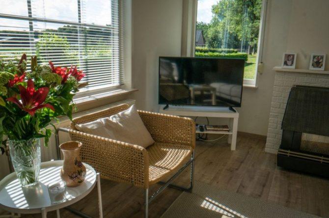 Villapparte-Natuurhuisje 54333-Vakantiehuis De Zeekraal-6 personen-Hulst-Zeeuws Vlaanderen-gezellige woonkamer