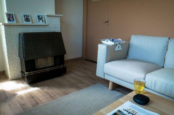 Villapparte-Natuurhuisje 54333-Vakantiehuis De Zeekraal-6 personen-Hulst-Zeeuws Vlaanderen-zithoek met gashaard