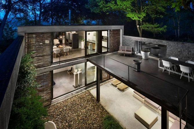 Villapparte-Special Villas-Vakantiehuis Betonnen Boshuis-luxe vakantiehuis voor 4 personen-Oosterhout-Noord-Brabant-buiten