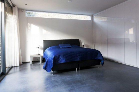 Villapparte-Special Villas-Vakantiehuis Betonnen Boshuis-luxe vakantiehuis voor 4 personen-Oosterhout-Noord-Brabant-romantische slaapkamer