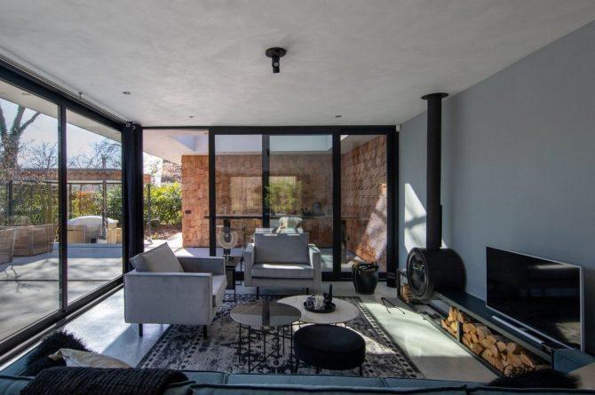 Villapparte-Special Villas-Vakantiehuis Houten Boshuis-luxe vakantiehuis voor 4 personen-Oosterhout-Noord-Brabant-met hottub-zithoek