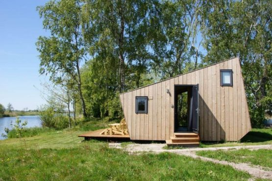 Villapparte-Tiny House Ljeppershiem-duurzaam en knus vakantiehuis voor 2 personen-Friesland