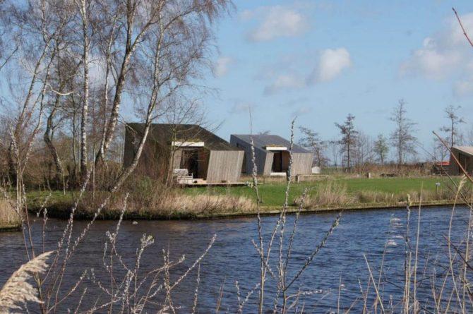 Villapparte-Tiny House Ljeppershiem-duurzaam en knus vakantiehuis voor 2 personen-Friesland-kleinschalig park