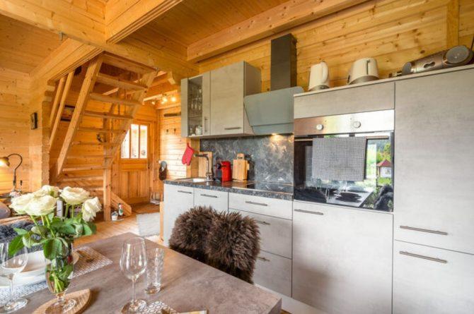 Villapparte-Belvilla-Vakantiehuis Faakersee-Finkenstein-luxe vakantiehuis voor 6 personen-Karinthië-Oostenrijk-luxe keuken