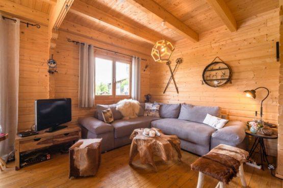 Villapparte-Belvilla-Vakantiehuis Faakersee-Finkenstein-luxe vakantiehuis voor 6 personen-Karinthië-Oostenrijk-romantische zithoek