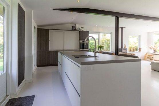 Villapparte-Belvilla-Vakantiehuis Gentiaan aan Zee-luxe vakantiehuis voor 6 personen-Julianadorp-Noord-Holland-luxe keuken