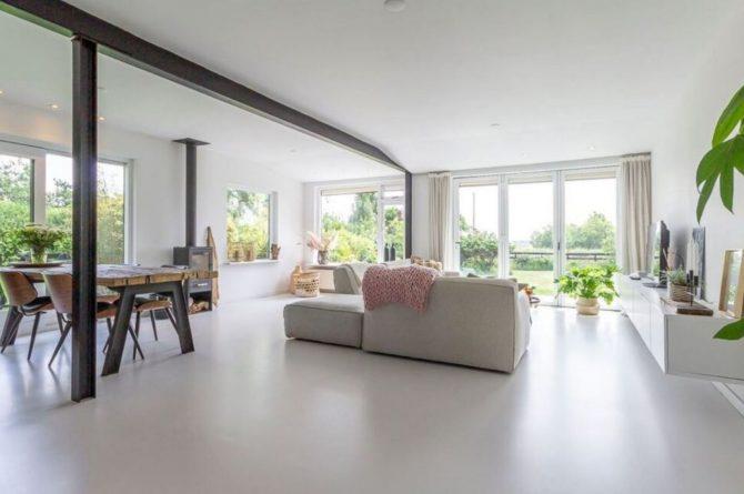 Villapparte-Belvilla-Vakantiehuis Gentiaan aan Zee-luxe vakantiehuis voor 6 personen-Julianadorp-Noord-Holland-ruime woonkamer