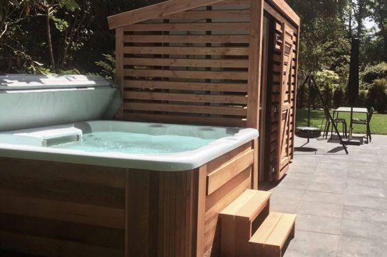 Villapparte-Dutchen-Suitelodge Sauna & Jacuzzi-luxe vakantiehuis voor 4 personen-Gooilanden-Jacuzzi