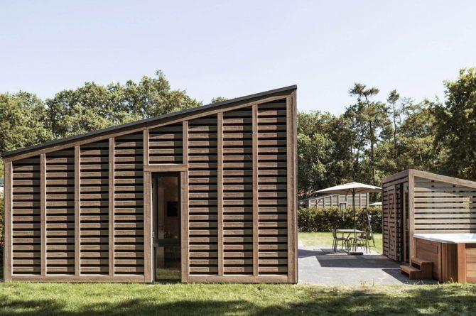 Villapparte-Dutchen-Suitelodge Sauna & Jacuzzi-luxe vakantiehuis voor 4 personen-Gooilanden-buiten
