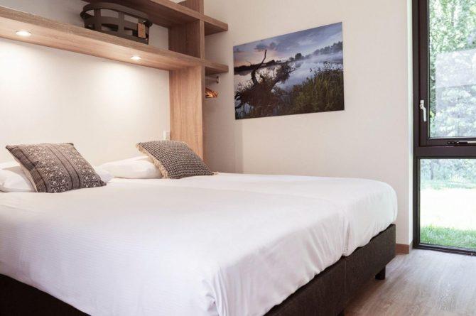 Villapparte-Dutchen-Suitelodge Sauna & Jacuzzi-luxe vakantiehuis voor 4 personen-Gooilanden-luxe slaapkamer
