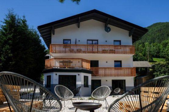 Villapparte-Lodge Rose's Heart-luxe appartementenhuis-Bad Klein Kirchheim-Karinthië-Oostenrijk