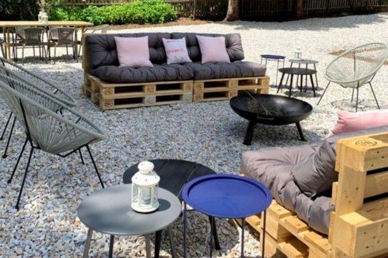 Villapparte-Lodge Rose's Heart-luxe appartementenhuis-Bad Klein Kirchheim-Karinthië-Oostenrijk-terras