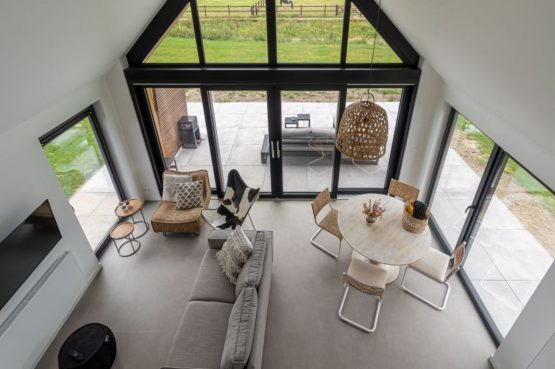 Villapparte-Natuurhuisje-Bosvilla Vrouwenpolder-luxe vakantiehuis voor 4 personen-Zeeland-vanuit vide