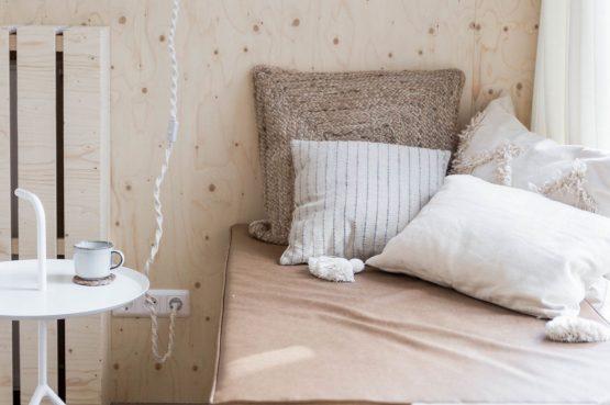 Villapparte-Noyr Tiny House-Veluwe-Nunspeet-Gelderland-2 personen-knusse zithoek