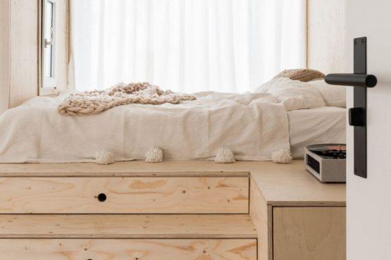 Villapparte-Noyr Tiny House-Veluwe-Nunspeet-Gelderland-2 personen-verhoogd bed