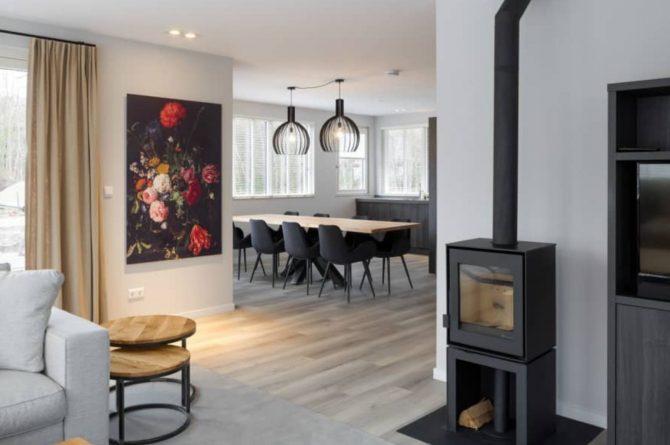 Villapparte-Roompot-Largo-Villa Texel-luxe vakantiehuis-8 personen-De Koog-Texel-houtkachel