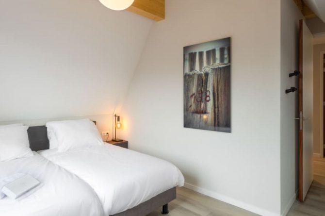 Villapparte-Roompot-Largo-Villa Texel-luxe vakantiehuis-8 personen-De Koog-Texel-romantische slaapkamer