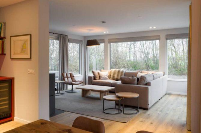 Villapparte-Roompot-Largo-Villa Texel-luxe vakantiehuis-8 personen-De Koog-Texel-romantische woonkamer