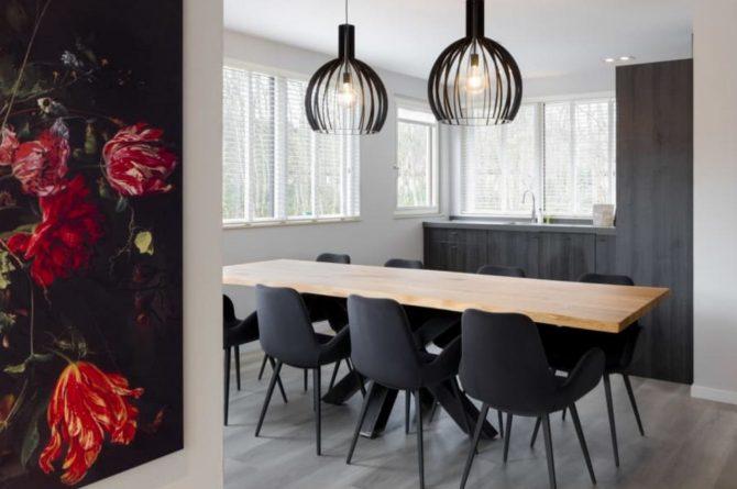 Villapparte-Roompot-Largo-Villa Texel-luxe vakantiehuis-8 personen-De Koog-Texel-ruime eethoek