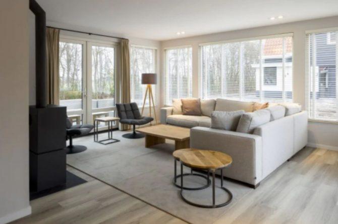 Villapparte-Roompot-Largo-Villa Texel-luxe vakantiehuis-8 personen-De Koog-Texel-ruime woonkamer