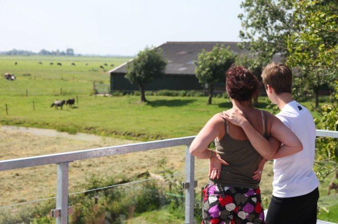 Villapparte-Special Villas-Vakantiehuis Grutte Tsjerke-luxe vakantiehuis in een verbouwde kerk-voor 10 personen-Friesland-uitzicht