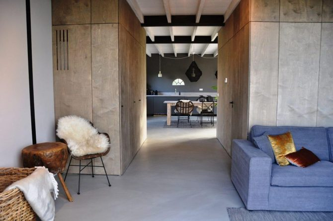 Villapparte-Special Villa's-Vakantiehuis Lindenhof Loënga-luxe vakantiehuis voor 2 personen-Sneek-Friesland-gezellige woonkamer