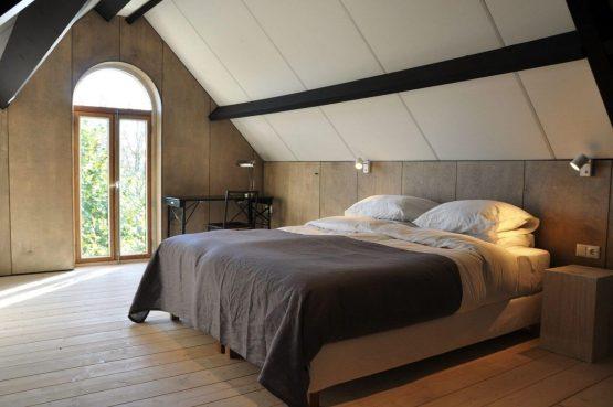 Villapparte-Special Villa's-Vakantiehuis Lindenhof Loënga-luxe vakantiehuis voor 2 personen-Sneek-Friesland-romantische slaapkamer