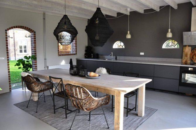 Villapparte-Special Villa's-Vakantiehuis Lindenhof Loënga-luxe vakantiehuis voor 2 personen-Sneek-Friesland-ruime eethoek