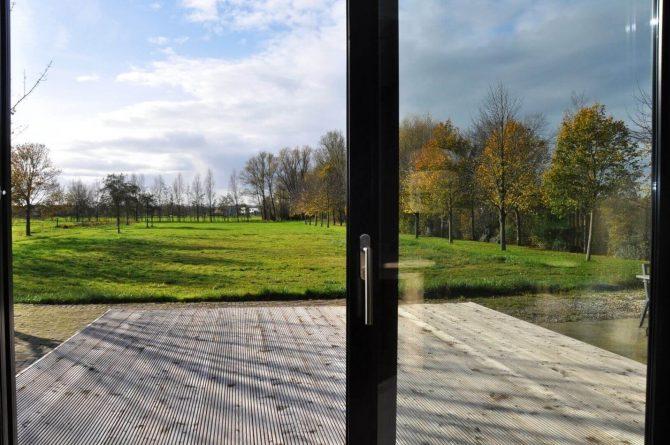 Villapparte-Special Villa's-Vakantiehuis Lindenhof Loënga-luxe vakantiehuis voor 2 personen-Sneek-Friesland-uitzicht