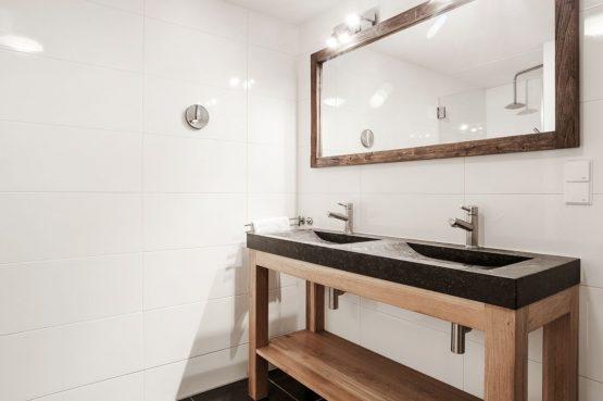 Villapparte-Villa Weideduyn 10-luxe vakantiehuis voor 6 personen met sauna en jacuzzi-Schoorl-Noord-Holland-luxe wastafels