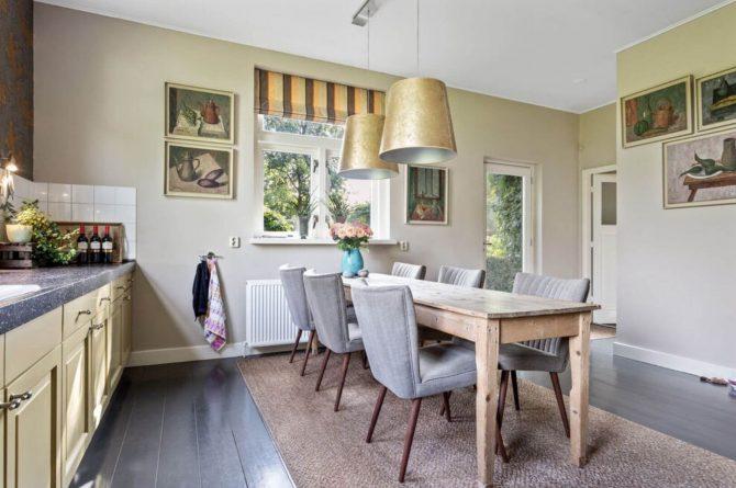 Villapparte-Belvilla-Boerderij Paulina Hoeve-knus vakantiehuis voor 4 personen-Alkmaar-Noord-Holland-eethoek in keuken
