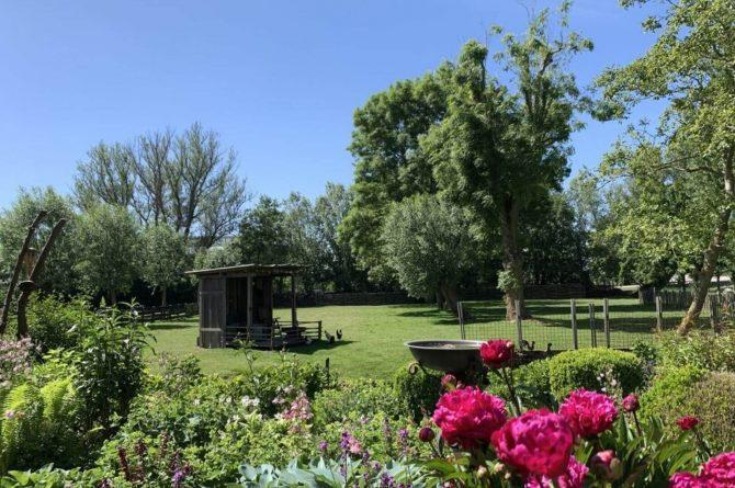Villapparte-Belvilla-Boerderij Paulina Hoeve-knus vakantiehuis voor 4 personen-Alkmaar-Noord-Holland-prachtige tuin