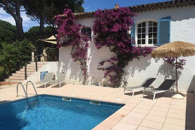 Villapparte-Domaine L'Oiseau Bleu-luxe vakantiehuis voor 12 personen-Cote d'Azur-Sainte Maxime