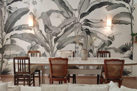Villapparte-Domaine L'Oiseau Bleu-luxe vakantiehuis voor 12 personen-Cote d'Azur-Sainte Maxime-gezellige eethoek