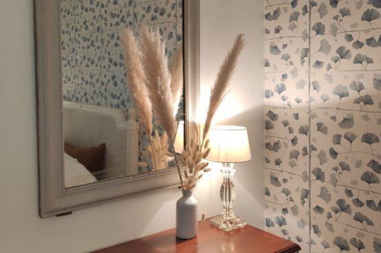 Villapparte-Domaine L'Oiseau Bleu-luxe vakantiehuis voor 12 personen-Cote d'Azur-Sainte Maxime-gezellige sfeer slaapkamer